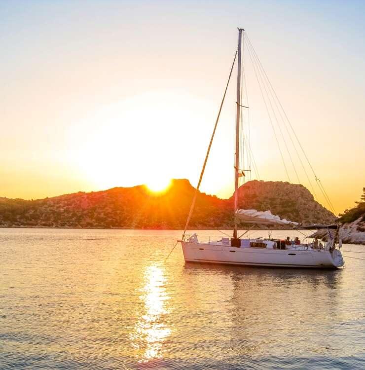Sunset cruise to Heraklion's gulf
